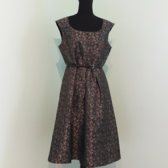 Black Label Dresses & Skirts - Sleeveless A-Line Evan Picone